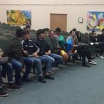 с первокурсниками КФУ из Таджикистана